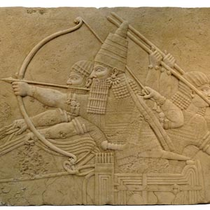 Ashurbanipal, King of Assyria (668-627 BC)