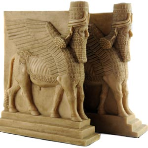 Lamassu Bookend, Bull