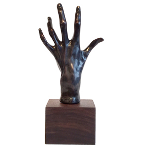 Hand of Pianist by Rodin - Bronze