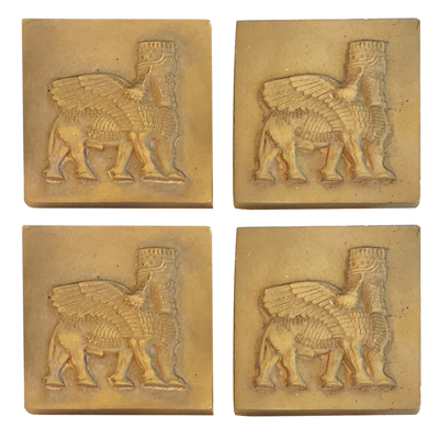 Lamassu Magnet, Set of 4
